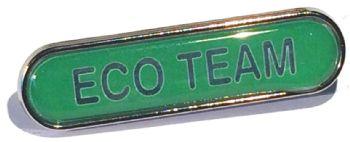 ECO TEAM bar badge